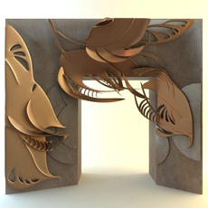 Fireplace Surround 3D Model