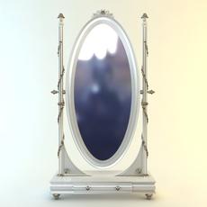 Savio Firmino Cheval Mirror 3D Model