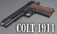Highly Detailed Colt 1911 3D Model