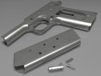 Free Colt 1911 parts 3D Model