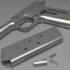 Colt 1911 parts 3D Model