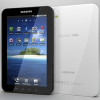 Samsung Galaxy Tab 3D Model