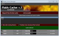 Fluids Cache Manager for Maya 1.2.0 (maya script)