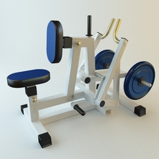Exercise Machine 2 3D Model