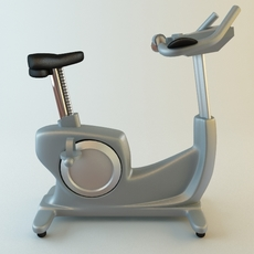 Exercise Bike 3D Model