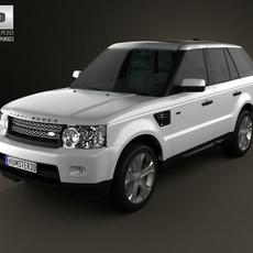 Land-Rover Range Rover Sport 2011 3D Model