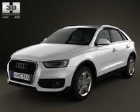 Audi Q3 2011 3D Model