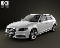 Audi S4 Avant 2011 3D Model