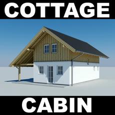 Cottage 2 3D Model