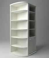 Bookshelf Cabinet 3D Model