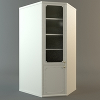 Corner Cabinet 3D Model