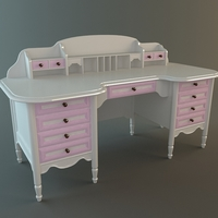 Girls Desk 3D Model