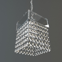 Hanging Crystal Chandelier 3D Model