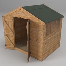 Garden shed 3D Model