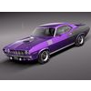 Plymouth Hemi Cuda - Barracuda 1971 3D Model