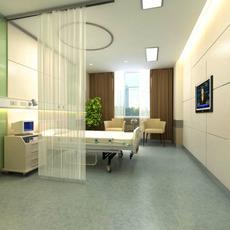 Sickroom Spaces 001 3D Model