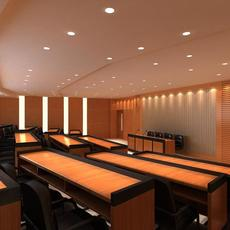 Ladder classroom 001 3D Model