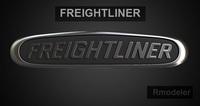 Freightliner 3d Logo 3D Model
