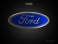 Ford 3d Logo 3D Model
