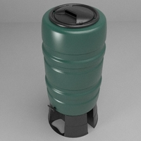 Rainwater Butt 3D Model
