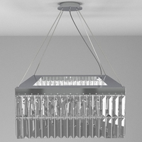 Contemporary Chandelier 1 3D Model