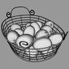 02 28 38 640 egg basket   mesh 3 4