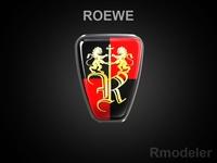Roewe 3d Logo 3D Model