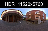 Alley HDRI Environment (High resolution)