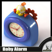 Baby Alarm 3D Model