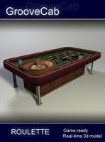 Roulette - Low Poly 3D Model