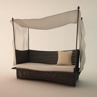 DEDON'S - DAYDREAM exterior furniture 3D Model