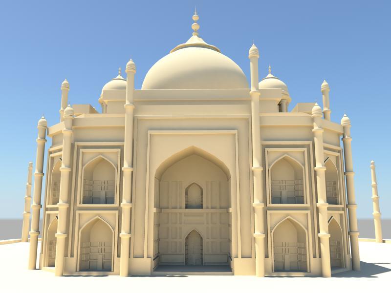 Taj Mahal 3d Image: TajMahal 3D Model