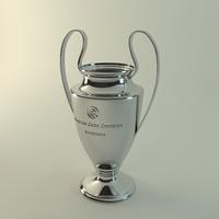 European Champions cup 3D Model