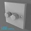 02 33 00 969 switch socket plastic   render 2 4