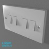 02 33 02 384 switch socket plastic   render 8 4