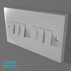 02 33 02 539 switch socket plastic   render 9 4