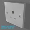 02 33 05 236 switch socket plastic   render 13 4
