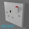 02 33 05 402 switch socket plastic   render 14 4