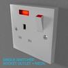 02 33 05 621 switch socket plastic   render 15 4