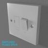 02 33 07 307 switch socket plastic   render 21 4