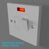 02 33 07 646 switch socket plastic   render 22 4