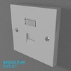 02 33 10 518 switch socket plastic   render 32 4