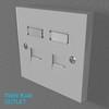 02 33 10 621 switch socket plastic   render 33 4