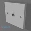 02 33 10 714 switch socket plastic   render 34 4