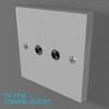 02 33 10 831 switch socket plastic   render 35 4