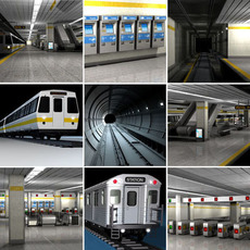 Subway Collection 3D Model