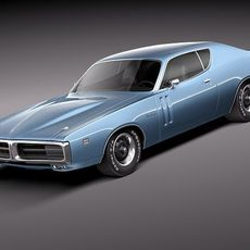 Dodge Charger 1971 3D Model