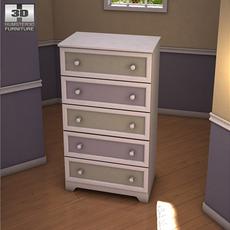 Ashley Sandhill Chest 3D Model