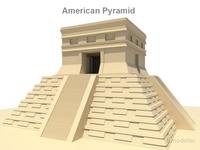 American pyramid 3D Model