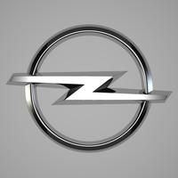 Opel Logo 3D Model